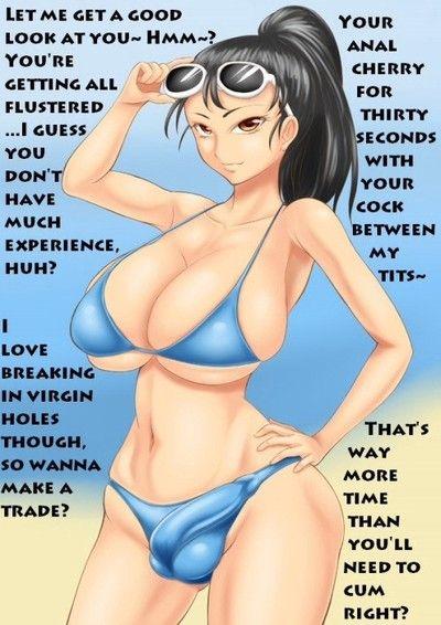 Bikini shemale comics
