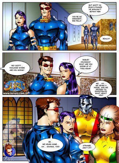 X-Men- Discord, Hardcore Orgy Seiren - part 3