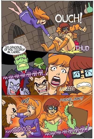 Scooby-Doo Porn Comics - all heroes in xxx action