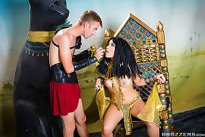 Rina ellis learns about cleopatra in brazzers sex university - part 2109