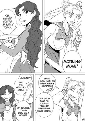 Sailor Moon - The Beauty Of A Mother