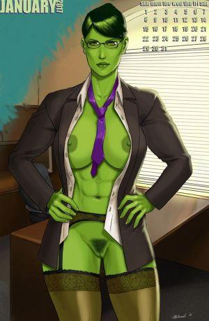 She-Hulk 2017 Calendar