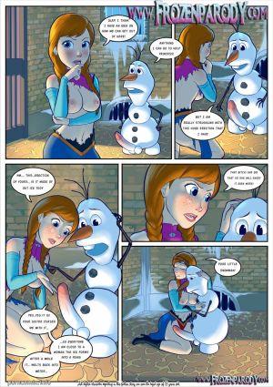 Frozen Parody 3- Iceman