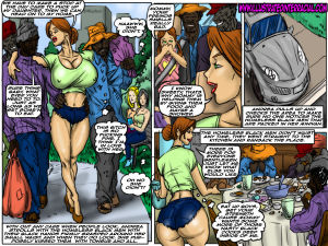 Emptiness- Illustrated interracial - part 3