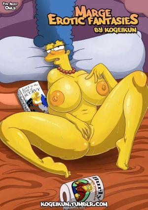 Marge's Erotic Fantasies-Simpsons