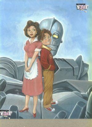 Pandora Box- Iron Giant