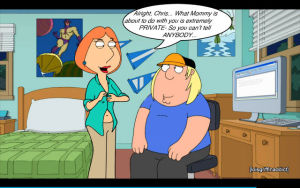 Lois Indulges a Family Foot Fetish - part 2