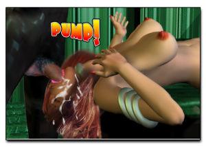 Mindy - Sex Slave On Mars c401-425 - part 5