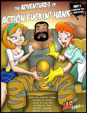 Jab Comix – Adventures of Action Fuckin' Hank