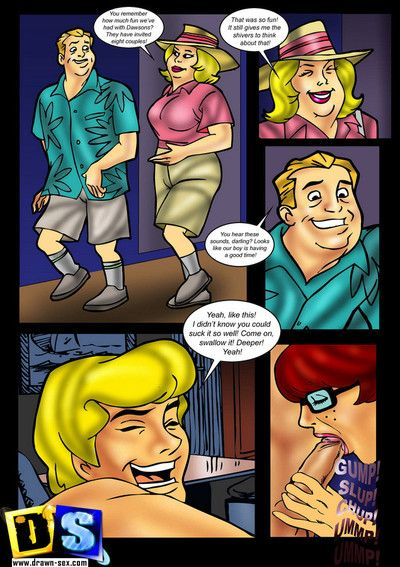 Scooby Doo XXX Comics - Hight fuck