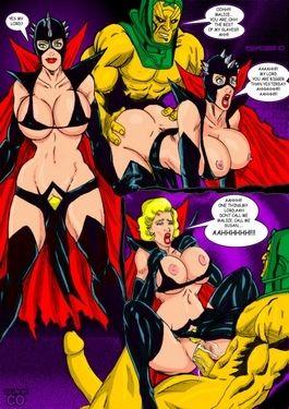 Superheros Fuck- Wolverino