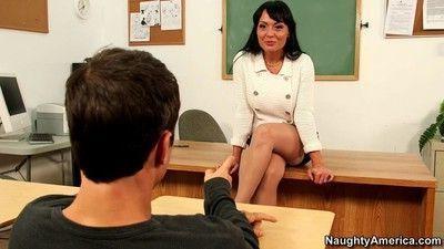 Teacher mahina zaltana banged hard by her student