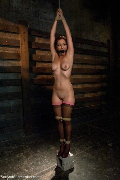 Gorgeous audrey rose comes to sex and submission to be bound, controlled and dom
