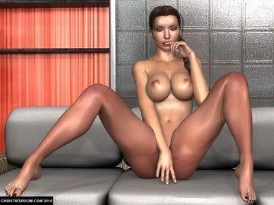 Raider 3d sex hardcore