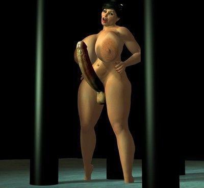 Futanari sex game