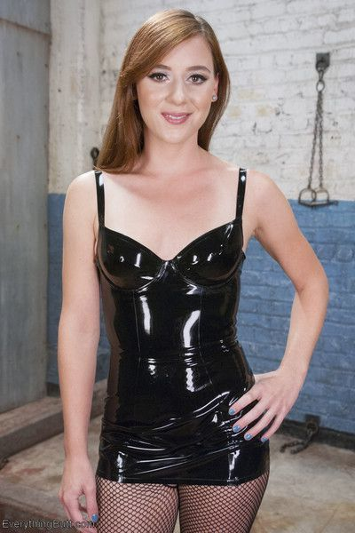 Casey calvert works her domme magic on a new face. audrey holiday takes the slin