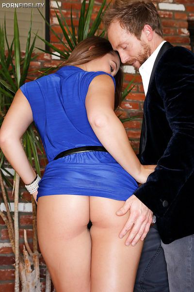 Hardcore sex action with Dani Daniels taking a forced fucking