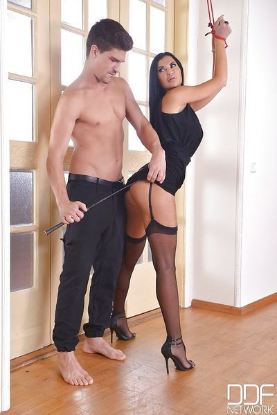 Latina MILF Jasmine Jae taking anal toying and fucking in hardcore scene