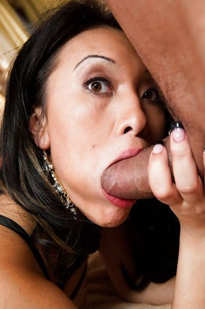 Asian pornstar Jayden Lee getting fucked in filthy asshole by large dick