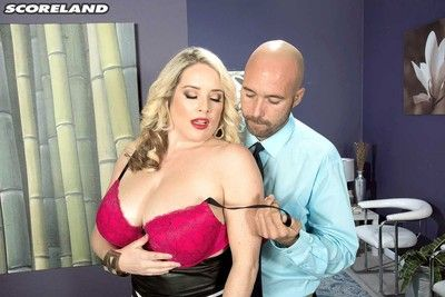 Busty big boobed maggie green doing a stiff cock