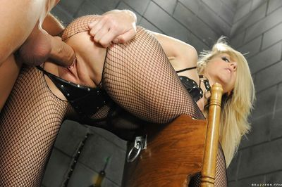 Mature babe Julia Ann in nasty femdom action with lots of humiliation