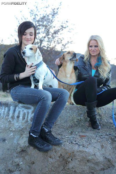 Nikki Hearts joins Kelly Madison & Ryan Madison for threesome fulfillment