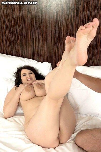 Big tits barbara angel fucking her wet pussy