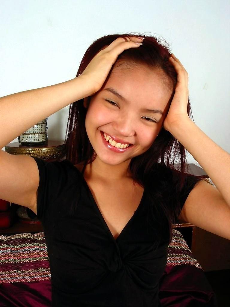 Cute asian girlfriend posing for her friend - part 414