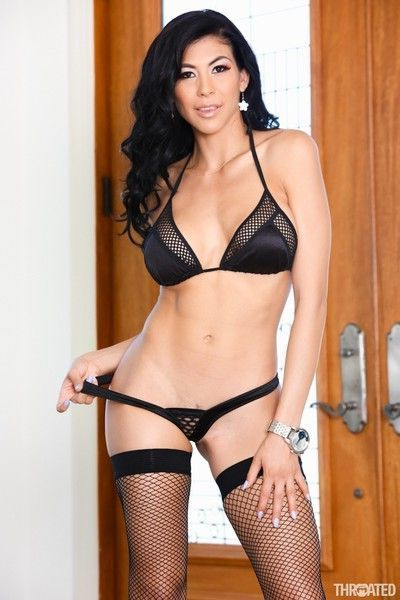 Heather vahn is a fiery hot latina with a kinky side