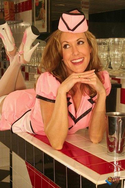 Brandi love retro waitress