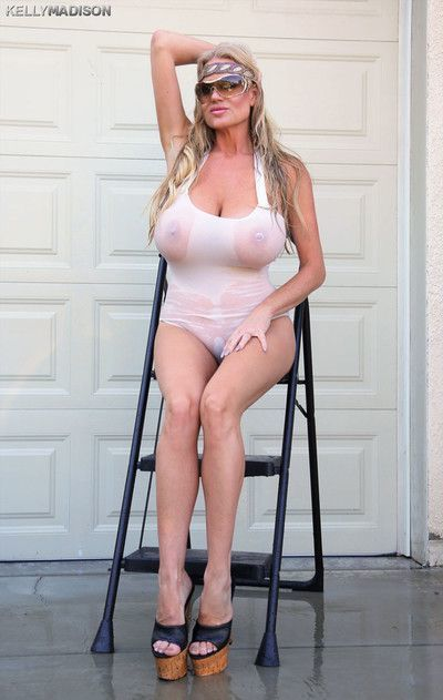 Kelly madison wet and oiled