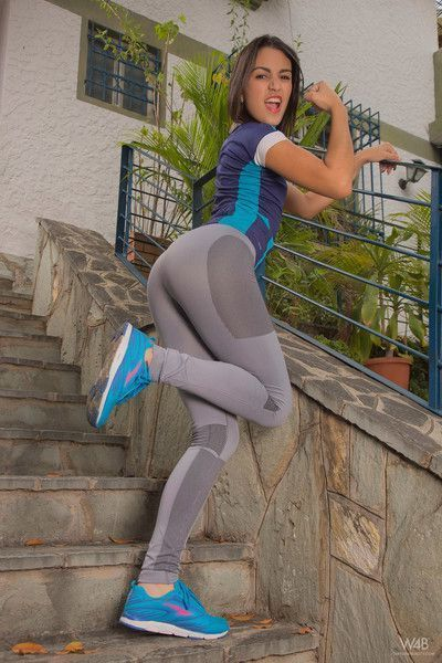Camila saint in athletic woman