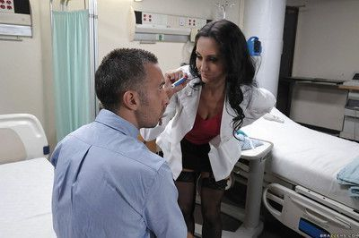 Horny MILF in doctor uniform Ava Addams gets her asshole drilled hardcore
