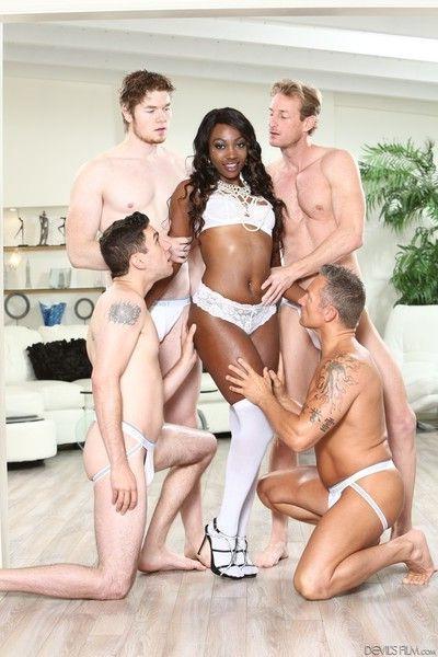 Skyler nicole in orgy