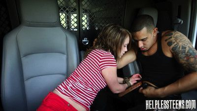 Helpless teen lizzie bell went out for a simple walk. she took a wrong turn and