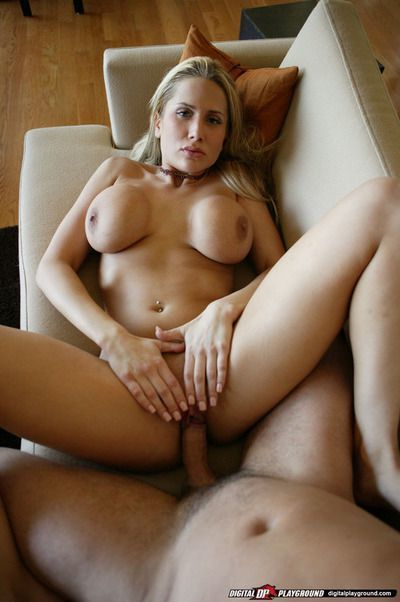 Well-stacked blonde shows off her titjob skills and gets shafted hardcore