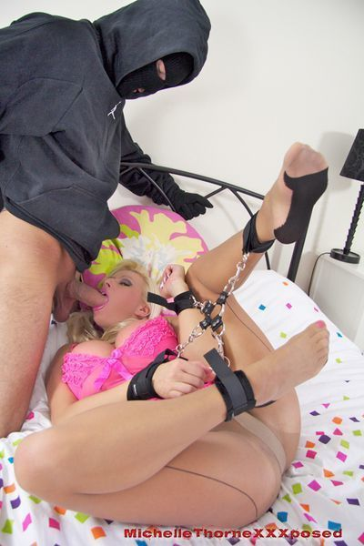 BDSM sex scene featuring a big tits milf pornstar Michelle Thorne