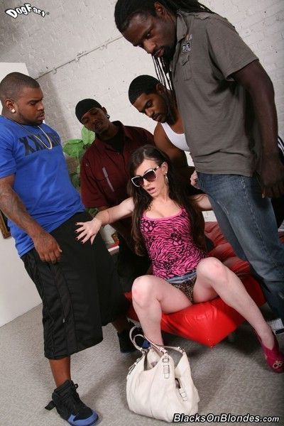 Jennifer white gets gangbanged