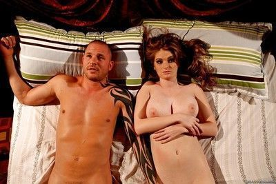 Sexy pornstar Faye Reagan with big tits enjoys hardcore sex