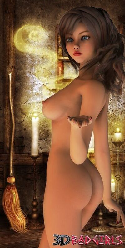 3d fraught girl syndi showing her amazing immense breasts