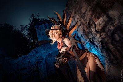[Knite] Witch Mercy cosplay