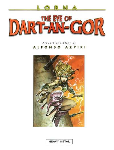 [Alfonso Azpiri] The Cogitate over of Dart-An-Gor [English]