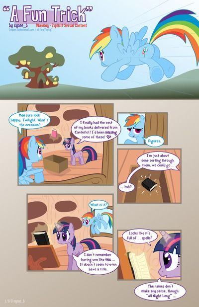 [Syoee_B] A Fun Trick (My Little Pony)