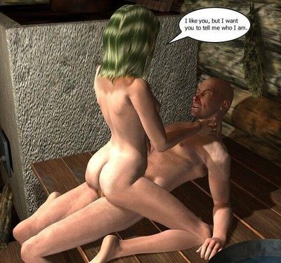 A couple doing it in these fantasy comics